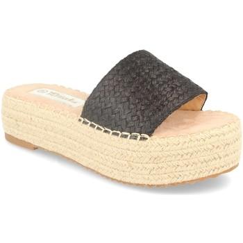 Zapatos Mujer Alpargatas Prisska JSZ1015 Negro