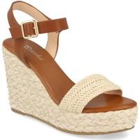 Zapatos Mujer Sandalias Prisska YB519 Beige