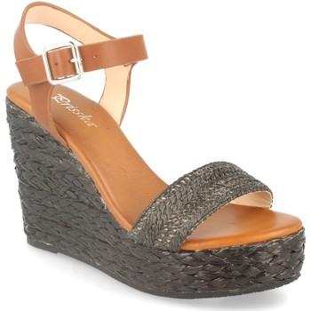 Zapatos Mujer Sandalias Prisska YB519 Negro