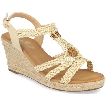 Zapatos Mujer Sandalias Milaya 3R46 Beige