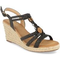 Zapatos Mujer Sandalias Milaya 3R46 Negro