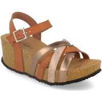 Zapatos Mujer Sandalias Silvian Heach M-160 Camel
