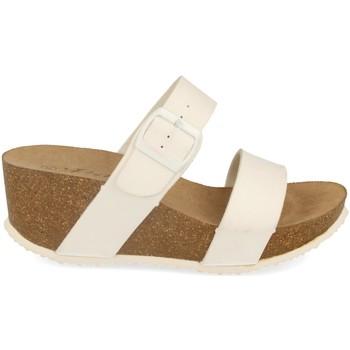 Zapatos Mujer Zuecos (Mules) Silvian Heach M-08 Blanco