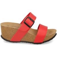Zapatos Mujer Zuecos (Mules) Silvian Heach M-08 Rojo