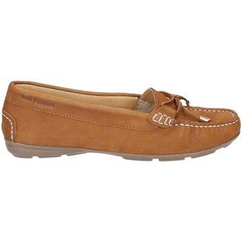 Zapatos Mujer Mocasín Hush puppies  Tostado