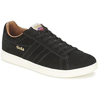 Zapatos Hombre Zapatillas bajas Gola EQUIPE SUEDE Negro