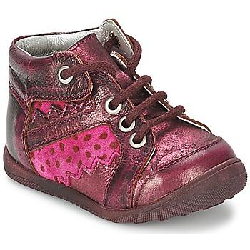 Zapatos Niña Botas de caña baja Catimini CABILLAUD Rosa / Marrón