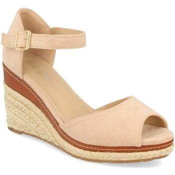 Zapatos Mujer Sandalias H&d EY-19 Beige