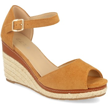 Zapatos Mujer Sandalias H&d EY-19 Camel