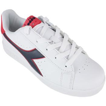 Zapatos Niños Zapatillas bajas Diadora game p gs c8627 Rojo