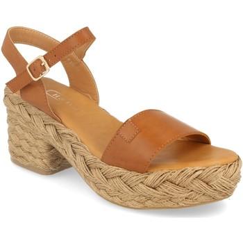 Zapatos Mujer Sandalias H&d YZ19-63A Camel