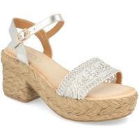 Zapatos Mujer Sandalias H&d YZ19-118 Plata
