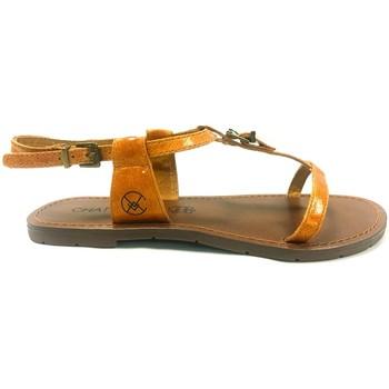 Zapatos Mujer Sandalias Chattawak Sandale 9-ZHOE Jaune Amarillo