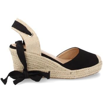 Zapatos Mujer Alpargatas Buonarotti 1JB-19264 Negro