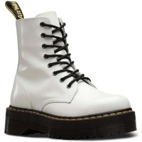 Zapatos Mujer Botas de caña baja Dr Martens BOTA QUAD RETRO JADON 8-EYE WHITE Blanco