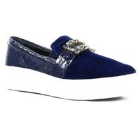 Zapatos Mujer Bailarinas-manoletinas Parodi Passion 83/7017/02 Azul