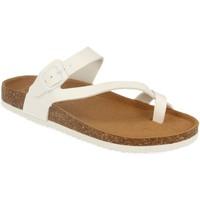 Zapatos Mujer Sandalias Silvian Heach M-15 Blanco