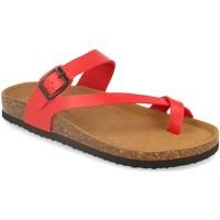 Zapatos Mujer Sandalias Silvian Heach M-15 Rojo