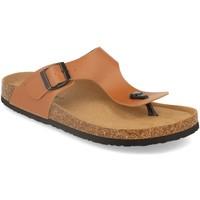 Zapatos Hombre Chanclas Silvian Heach M-152 Camel