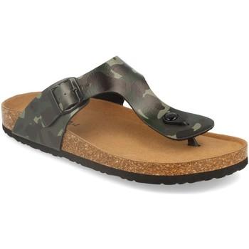 Zapatos Hombre Chanclas Silvian Heach M-152 Camuflaje