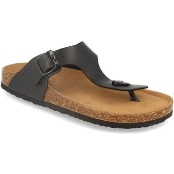 Zapatos Hombre Chanclas Silvian Heach M-152 Negro