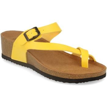 Zapatos Mujer Sandalias Silvian Heach M-28 Amarillo