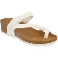 Zapatos Mujer Sandalias Silvian Heach M-28 Blanco
