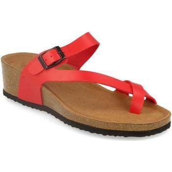 Zapatos Mujer Sandalias Silvian Heach M-28 Rojo