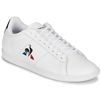 Zapatos Hombre Zapatillas bajas Le Coq Sportif COURTSET Blanco / Marino