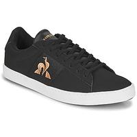 Zapatos Mujer Zapatillas bajas Le Coq Sportif ELSA Negro / Rosa