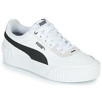 Zapatos Mujer Zapatillas bajas Puma CARINA LIFT Blanco / Negro / Gris