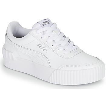 Zapatos Mujer Zapatillas bajas Puma CARINA LIFT Blanco