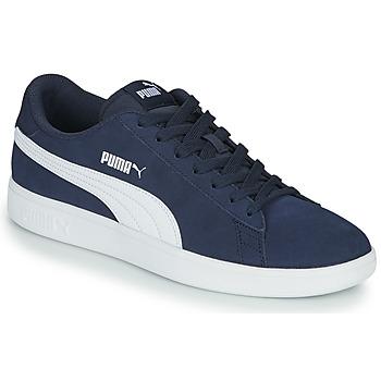 Zapatos Hombre Zapatillas bajas Puma SMASH Marino