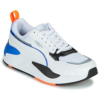 Zapatos Niños Zapatillas bajas Puma X-RAY Blanco / Azul / Negro