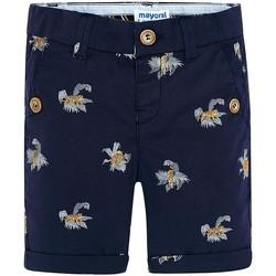 textil Niña Shorts / Bermudas Mayoral Bermuda estampado tigres Tinta Azul