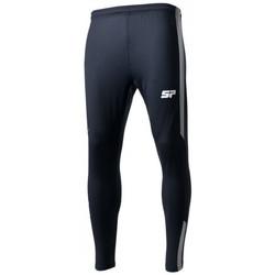 textil Niño Pantalones de chándal Sp Fútbol Caos Niño Negro