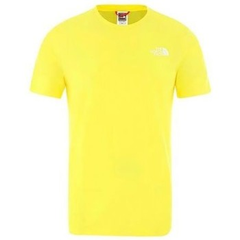 textil Hombre camisetas manga corta The North Face CAMISETA RNBW AMARILLO BLANCO AMARILLO BLANCO