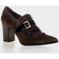 Zapatos Mujer Low boots Giko 76647 Marrón