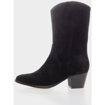 Zapatos Mujer Botines Troppa 8986 Negro