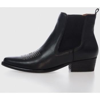 Zapatos Mujer Botines Bryan MINERVA Negro