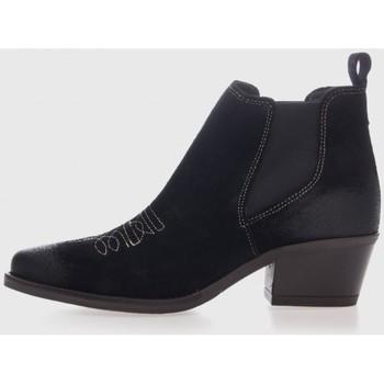 Zapatos Mujer Botines Mesquitashoes 3121 Negro
