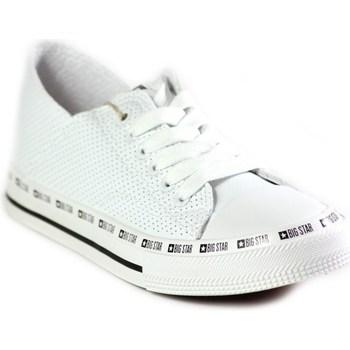 Zapatos Mujer Zapatillas bajas Big Star FF274024 Blanco