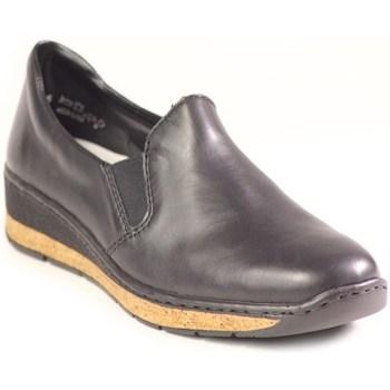 Zapatos Mujer Mocasín Rieker 5976600 Negros