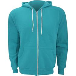 textil Hombre Sudaderas Bella + Canvas CA3739 Verde azulado