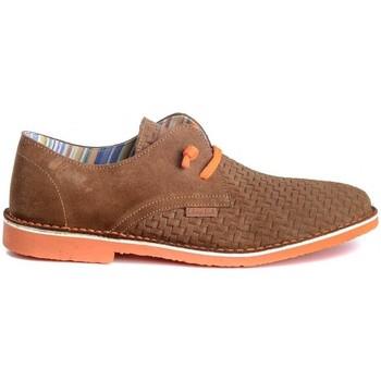 Zapatos Hombre Derbie Colour Feet KHALIF Marrón