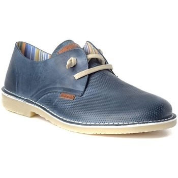 Zapatos Hombre Derbie Colour Feet KHALED Azul