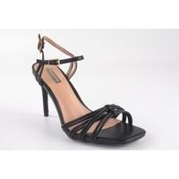 Zapatos Mujer Sandalias Bienve Ceremonia señora  1jb-0136 negro Negro