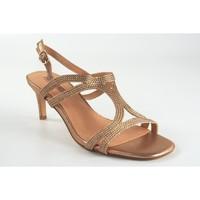 Zapatos Mujer Sandalias Bienve 1SL-0108 plata