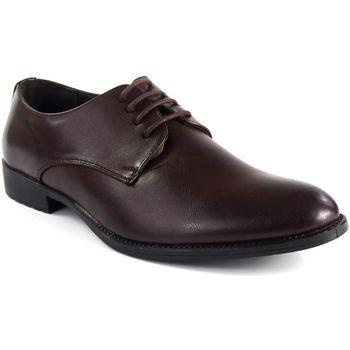 Zapatos Hombre Richelieu Bienve Zapato caballero  2018-8 marron Marrón