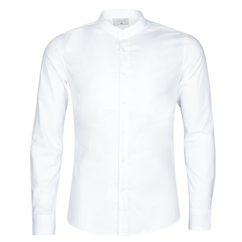 textil Hombre Camisas manga larga Yurban MASS Blanco